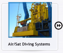 air/sat diving systems